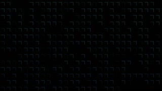 Abstract background animation with pattern of cubes