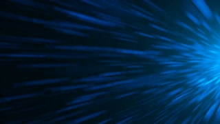 Abstract background with light streaks and lines. Seamless loop
