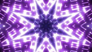 Abstract concert stage lights animation