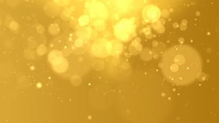 Abstract golden Glow Particles Background Hd