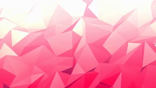 Abstract Light Pink Polygon Background
