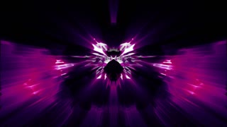 Abstract Magenta Rorschach Loop Background