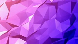 Abstract Pink Blue Polygon Background
