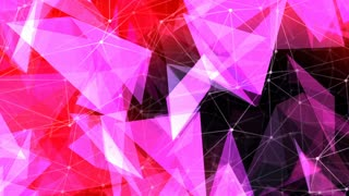 Abstract Polygon Chaos Background