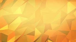 Abstract Polygon Golden Background