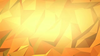 Abstract Polygon Golden Whitespace Background
