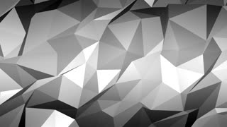 Abstract Polygon Gray Background Mov