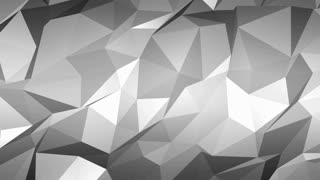 Abstract Polygon Gray Background