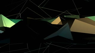 Abstract Random Polygon Background