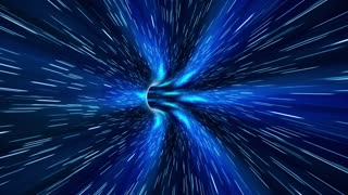 Abstract sci-fi Space Wormhole Tunnel Time Travel. Loopable