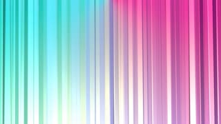 Abstract simple blue pink low poly 3D curtains as game backdrop. Soft low poly motion background of shifting pure blue pink polygons. 4K Fullhd seamless loop background