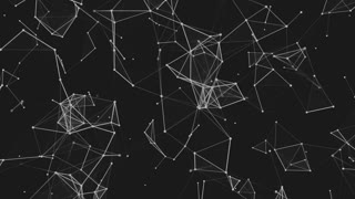 Abstract Space Dark Background