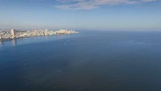 Cuba Aerial View Havana Skyline Ocean view