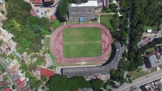 Havana Cuba Aerial View of Soccer Stadium