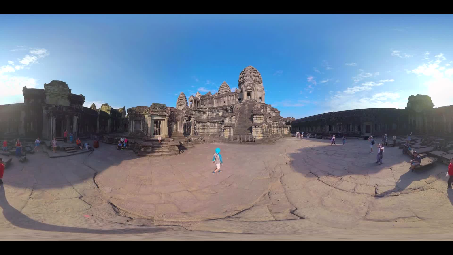 Angkor Wat Temple 360 VR - Multi-shot