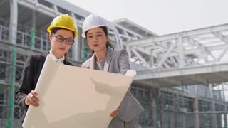 asian construction female engineers discussion