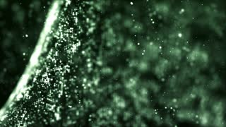 Beautiful Shiny 3D Particles String - Abstract Space Galaxy Hd Motion Background