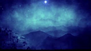 Bethlehem Star Christmas Motion Background