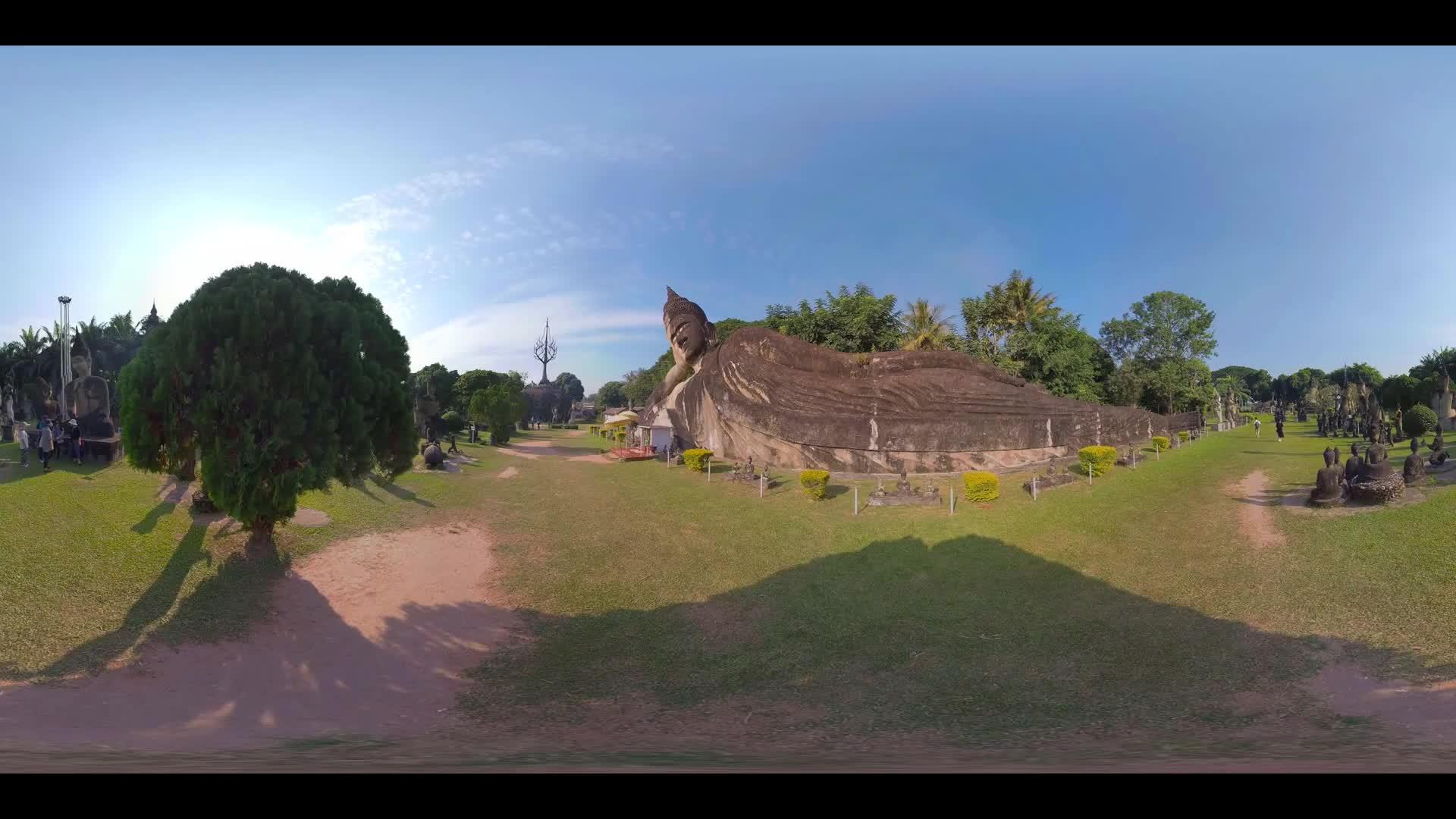 Buddha Park Statue 360 VR