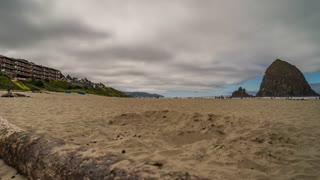 Cannon Beach, Oregon Timelapse