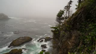 Cape Flattery, Washington Coast Timelapse
