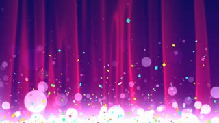 Celebration Curtain Background