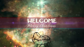 Christmas Creator Baby Welcome Title