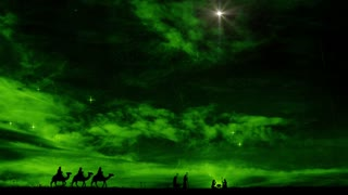 Christmas Nativity Scene Background