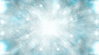 Cosmic blue gray looping CG VJ abstraction animated backdrop