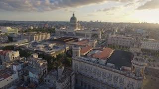 Cuba Skyline Old Havana Aerial