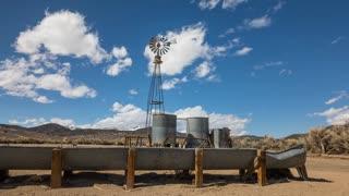 Desert Windmill Time Lapse