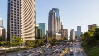 Downtown Los Angeles Hyperlapse Timelapse