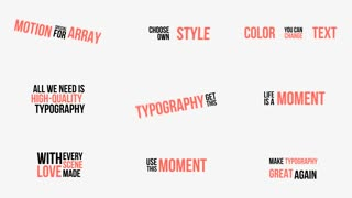 Dynamic Typography