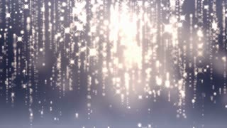Falling Particles Glitter award Background 4K Hd