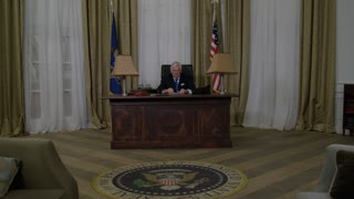 Generic President Wide Shot Of Oval Office