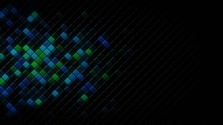Glowing rhombus on the edge abstract loopable background 4k UHD (3840x2160)