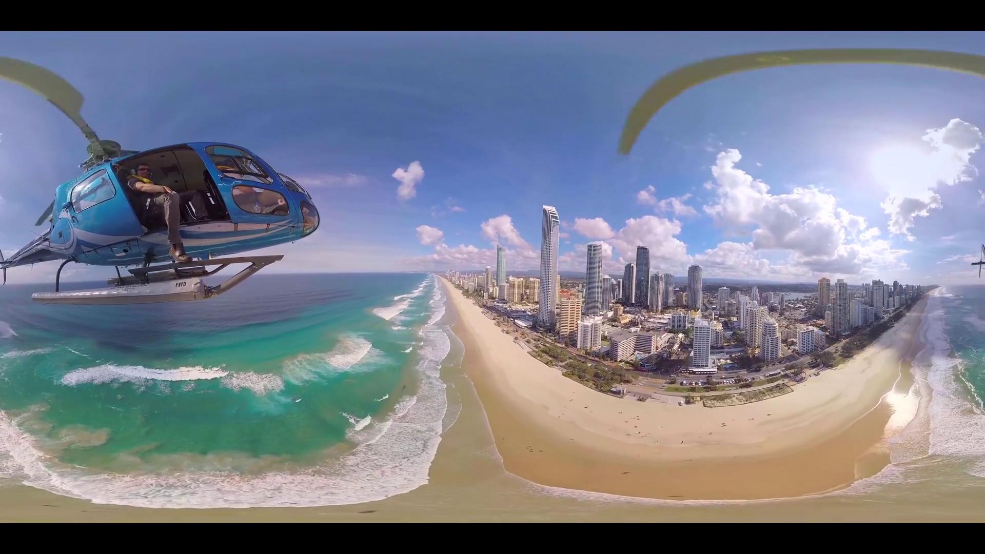 Обои Aerial, Gold Coast Skyline, queensland, Australia. Города