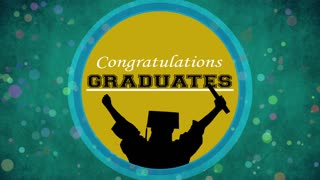 Graduation Motion Background