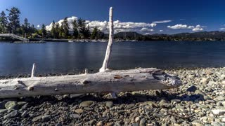 Hyperlapse Lake canada BC