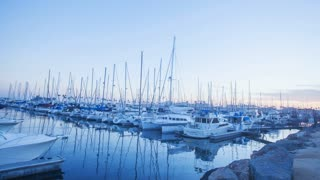 Hyperlapse of the Long Beach harbor in Southern California