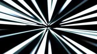Hyperspace jump, scene of overcoming the temporary space in space, time machine, hyperspace jump 4K abstract video animation