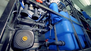 Industrial water purification equipment. Valves, gauges.