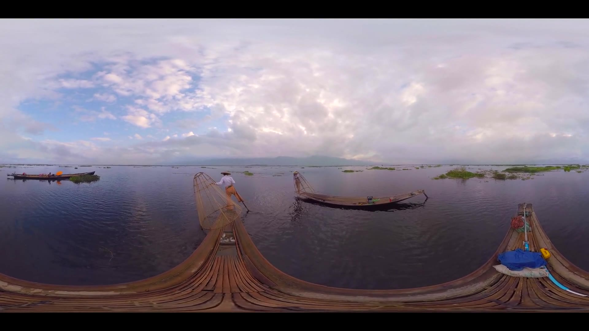 Inle Lake Fishermen 360 VR