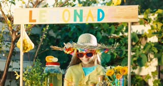 Lemonade Girl Outdoors