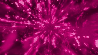 Magenta particles abstract looping cosmic animated VJ background