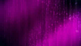 Magenta particles in light rays looping CG abstract animated backdrop