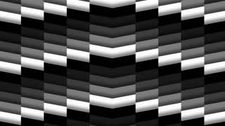Monochromatic Chevron Tile Background Loop