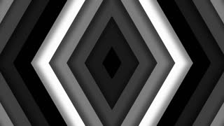 Monochromatic Diamond Shaped Chevron Tile Background Loop