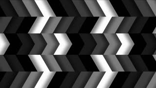 Monochromatic Horizontal Chevron Tile Pattern Loop