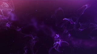 Nebula floating through deep space galaxy 3D Movement - HD Motion background (version 3)